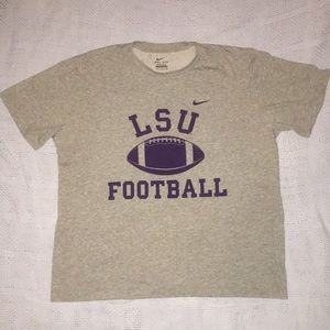 LSU football workout shirt